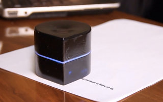 Zuta Labs Mini Mobile Robotic Printer moves on paper to print anything, anywhere