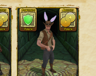 Temple Run 2 app update will add cloud save support and - bunny ears?
