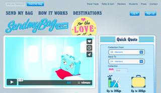 Website of the day: Send My Bag
