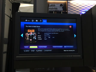 hands on british airways dreamliner in flight entertainment system review image 8