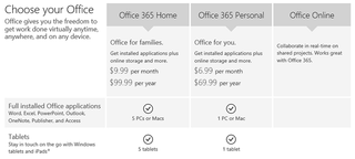 microsoft office 365 personal launches with cheaper pricing following office for ipad debut image 2