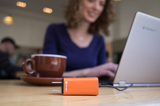 Finally a tiny laptop charger, the Dart will even juice-up your phone at the same time