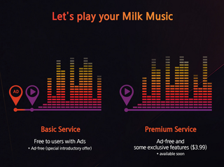 Samsung's Milk Music service to charge $3.99 per month for ad-free streaming in US