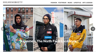 Website of the day: Highsnobiety