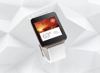 LG G Watch is always-on, water-resistant, will come in gold and white