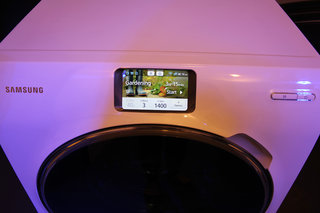 samsung ww9000 smart washing machine offers full lcd touchscreen smartphone like controls image 7