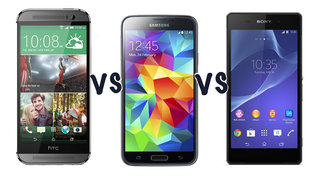 Which is the best smartphone? HTC One (M8) vs Samsung Galaxy S5 vs Sony Xperia Z2