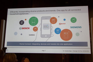 Bosch HomeConnect platform will offer one app to control your home appliances, regardless of brand