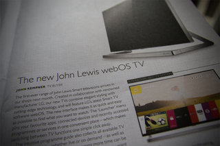 John Lewis turns to LG for own-brand webOS smart TV, available next month