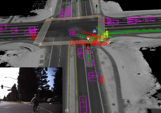 Google self-driving cars can now spot cyclist signals, level crossings and more