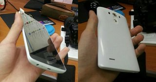 LG G3 leaks in clearest photo yet, button free