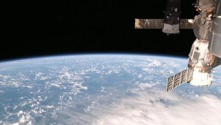 View an HD live stream of earth from space aboard the ISS, now