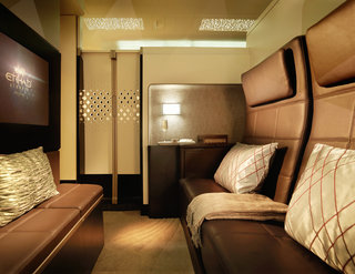 Think first class flying is fancy? Check out Etihad's A380 Residence suite, includes own butler