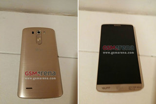 New LG G3 leaked photos reveal golden colour option and design