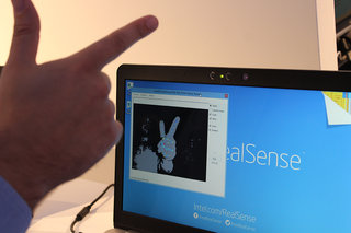 touch control holograms 3d scanning auto green screens we try the intel realsense future image 4