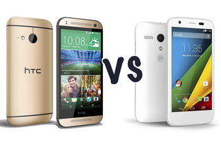 HTC One mini 2 vs Motorola Moto G 4G: What's the difference?