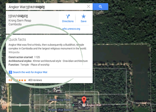 Google Maps for desktop adds useful Quick Facts info cards pulled from Knowledge Graph