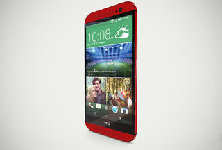 Red HTC One (M8) official, HTC gives a glimpse with an interactive 3D model