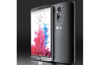 This is the LG G3, near bezel free, button free, and gorgeous