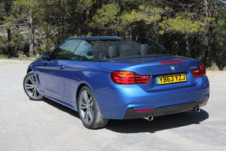 bmw 435i m sport convertible review image 9