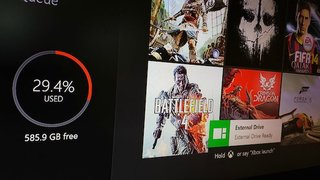 Xbox One update could allow for use of external hard drives