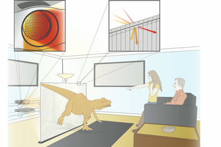 3D holographic projector system created by MIT scientists