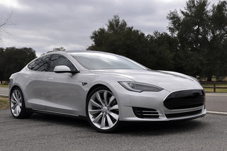 Tesla to hit UK with Model S that can drive length of England with one recharge break