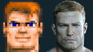 then and now the changing faces of wolfenstein s bj blazkowicz and other gaming greats image 2