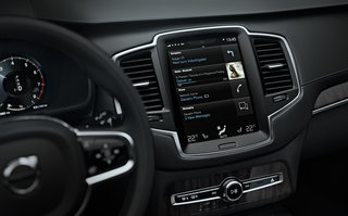 Volvo XC90 starts launch with in-car system details, touchscreen, connected and voice-controlled