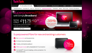 TalkTalk Super Router unveiled for fibre broadband connections