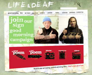 Website of the day: Life & Deaf