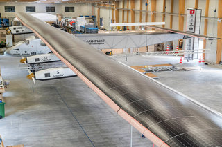 Solar plane, Impulse 2, makes its first flight ahead of world trip