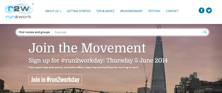 Website of the day: Run2Work