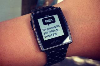 What's new in the Pebble firmware 2.2 and iPhone app updates?