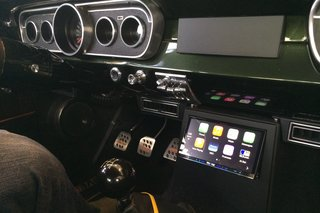 Classic 1965 Mustang gets Pioneer Apple CarPlay treatment, we ride shotgun