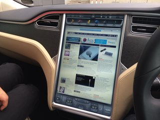 first drive tesla model s image 21
