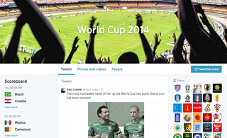 following the worldcup on twitter soccer edition hashflags and more image 4