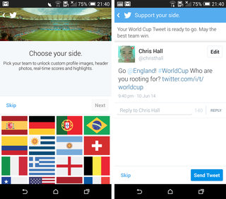 following the worldcup on twitter soccer edition hashflags and more image 5