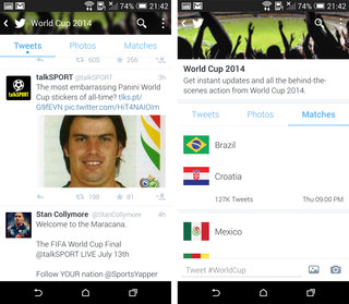 following the worldcup on twitter soccer edition hashflags and more image 6
