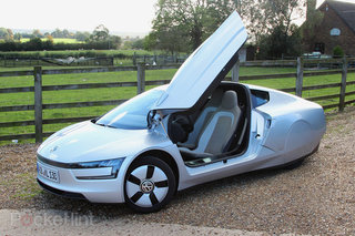 vw delivers xl1 world s most fuel efficient diesel electric hybrid car with 313mpg range. Black Bedroom Furniture Sets. Home Design Ideas