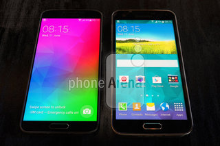 Metal Samsung Galaxy F gets snapped with super slim bezel
