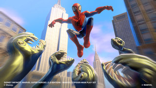 disney infinity 2 0 marvel super heroes preview hands on with cap america spidey and the gang image 14