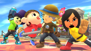 Super Smash Bros for Wii U preview: Want to fight as your Mii against Pac-Man? Now you can