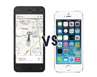 Amazon Fire Phone vs iPhone 5S: What's the difference?