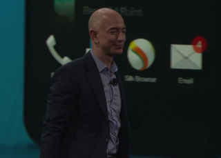 Watch Amazon's Jeff Bezos show off new Fire Phone in event video