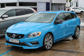 Want to see Volvo's new performance car? Check out the limited edition Volvo V60 Polestar in our first drive