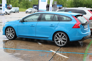 want to see volvo s new performance car check out the limited edition volvo v60 polestar in our first drive image 3