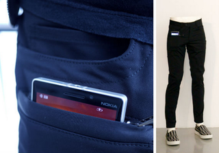 Microsoft charging trousers bring new meaning to the 'Power suit'