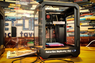 3d printing takes over the tech tavern having fun with makerbot replicator and replicator mini image 16
