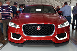 Jaguar C-X17 in pictures: Jag's 4x4 crossover concept shows face at Goodwood festival
